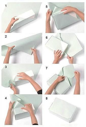 Красиво упакованный подарок своими руками
