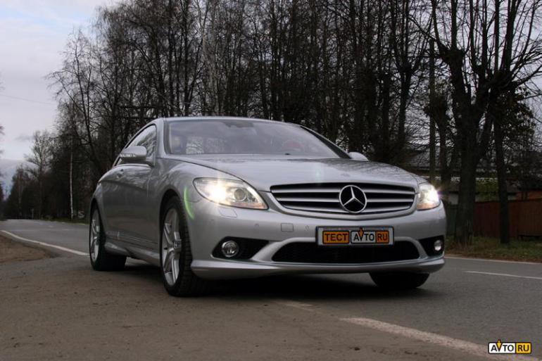 Тест-драйв: Mercedes-Benz CL500: деньги – брызги