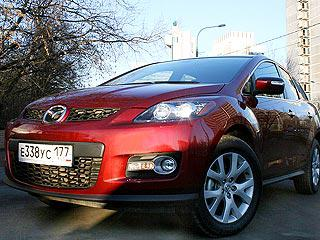 Эксперты провели тест-драйв внедорожника Mazda CX-7