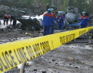 В Грузии прогремел взрыв, есть жертвы