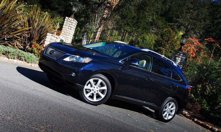 RX – самая популярная модель Lexus на планете