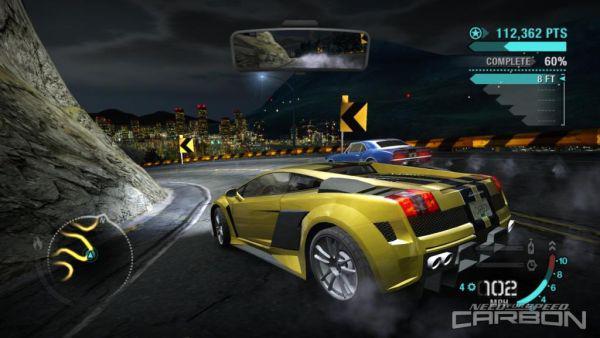 Need For Speed Carbon - гонки продолжатся в каньоне