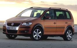 Volkswagen: сделал внедорожный Touran