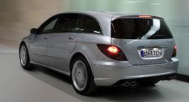 «Заряженный» Mercedes R-класса никому не нужен