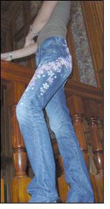 Японские джинсы Wahoojin