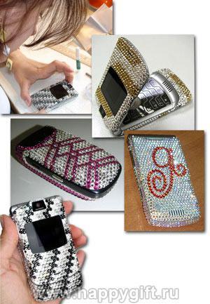 Инкрустируйте Ваш телефон кристаллами