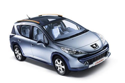 Peugeot 207 превратят во внедорожник