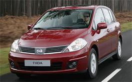Тест консервативного Nissan Tiida