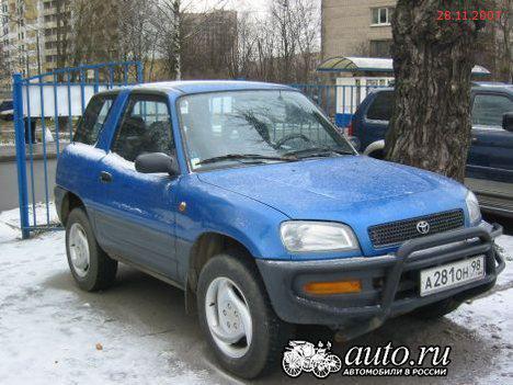 Toyota RAV4 отзываются из России