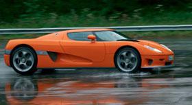 В Швеции разбили самый быстрый автомобиль в мире