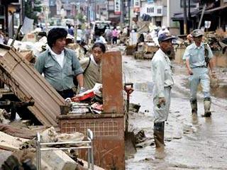 Наводнения в Японии: эвакуированы 100 тыс. человек