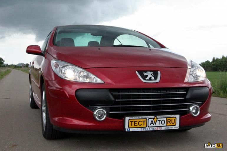 Тест-драйв Peugeot 307cc: «Эх, прокачу с ветерком!»
