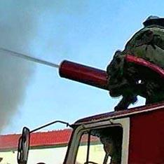 На севере Москвы горит склад медицинской продукции