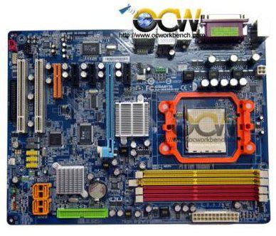 Новая материнская плата от Gigabyte на AMD 690G логике