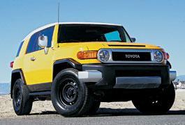 Чувак, это моя тачка или первый тест Toyota FJ Cruiser