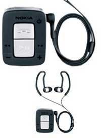 Стереогарнитура Bluetooth:  Nokia BH-500