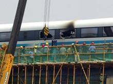Германия: крушение скоростного монорельсового поезда