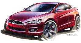 Mitsubishi: Новый Lancer покажут в январе!