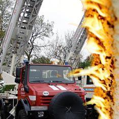 Жилой дом спасли от огня