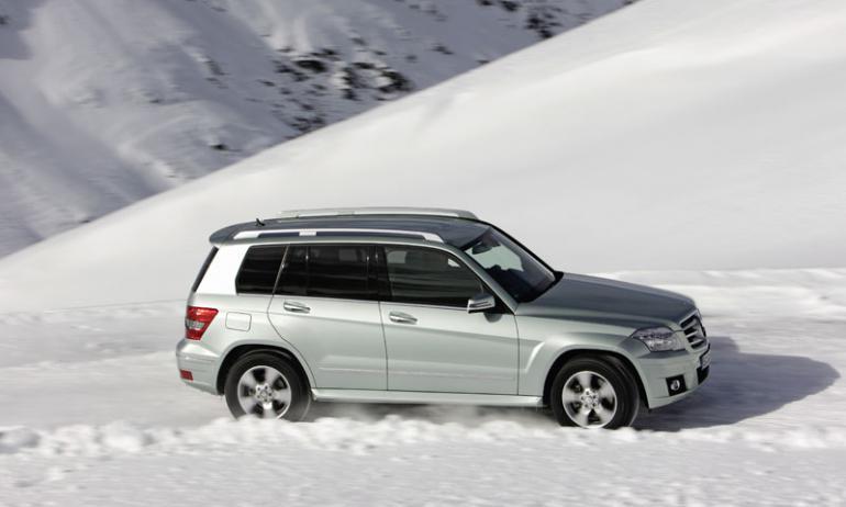 Mercedes-Benz GLK меняет стереотипы