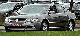 Volkswagen: обновит Phaeton