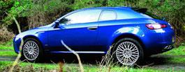 Alfa Brera - походкой манекещицы