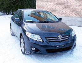 Тестируем новую Toyota Corolla