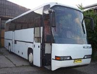 В Японии столкнулись два туристических автобуса