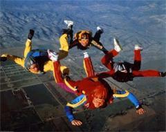 Как прыгнуть с парашютом?