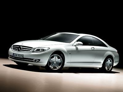 Mercedes CL - лидер мнений