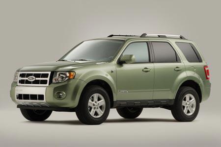Ford: представил гибридный внедорожник Escape