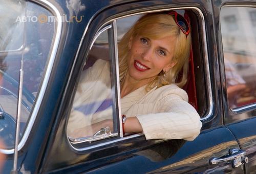 Второе женское ралли на классических автомобилях