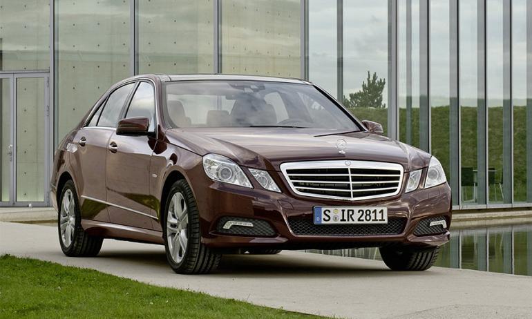 Mercedes назло кризису - новый E-класс