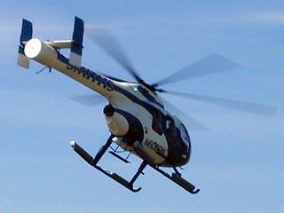 В Тюменской области вертолет рухнул на дачный участок