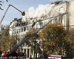 Число жертв пожара в Москве выросло до 9 человек