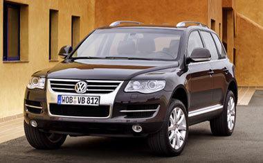 Volkswagen Touareg: за $29 в день в «Авто Ганза»