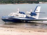 Самолет-амфибия Бе-103 упал на дачный участок в Хабаровске