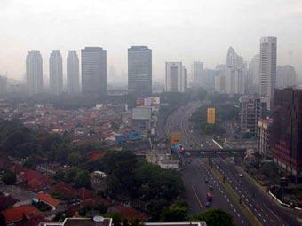 В столице Индонезии произошло сильное землетрясение