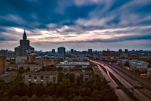 Досуг в городе Москве