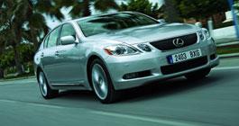 Lexus GS 450h - электрошок