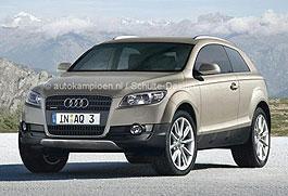 Audi: готовит модель Q3