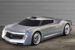 GM показал купе с авиационным мотором