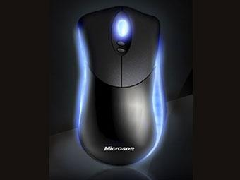 Microsoft выпустила семикнопочную светящуюся мышь