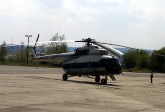 В Свердловской области упал почтовый Ми-8