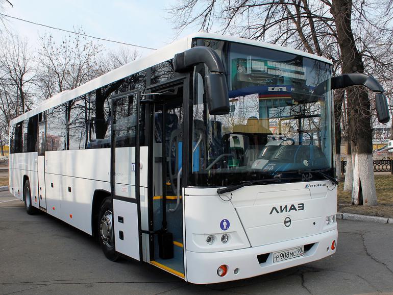 «Группа ГАЗ» представляет перспективные автобусы на выставке Comtrans'2013