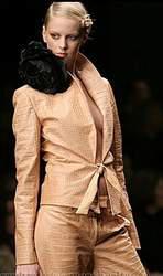Женский осенний костюм - модно, элегантно, тепло