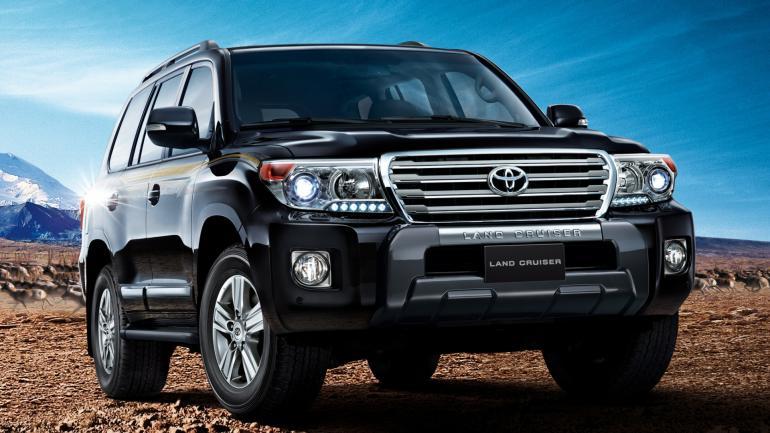 Тест нового Toyota Land Cruiser 200