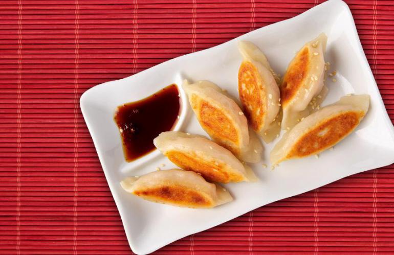 Японские пельмени: рецепт