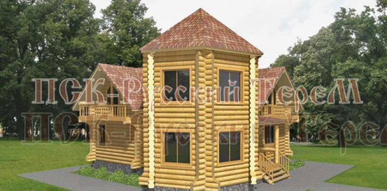 Деревянные дома - совершенный подарок природы