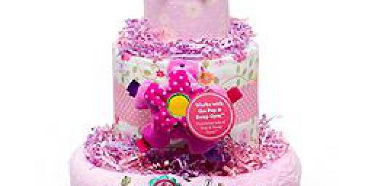 Тортики из подгузников по уникальному дизайну от BABY CAKE
